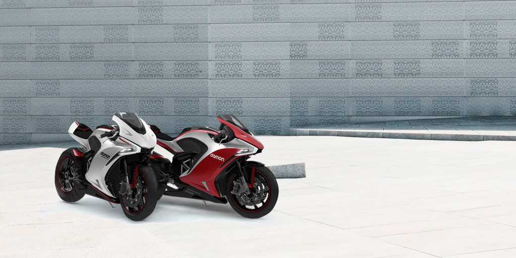 Презентация мотоцикла Damon Motorcycles Hypersport