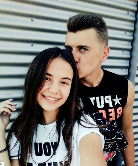Денис із дівчиною