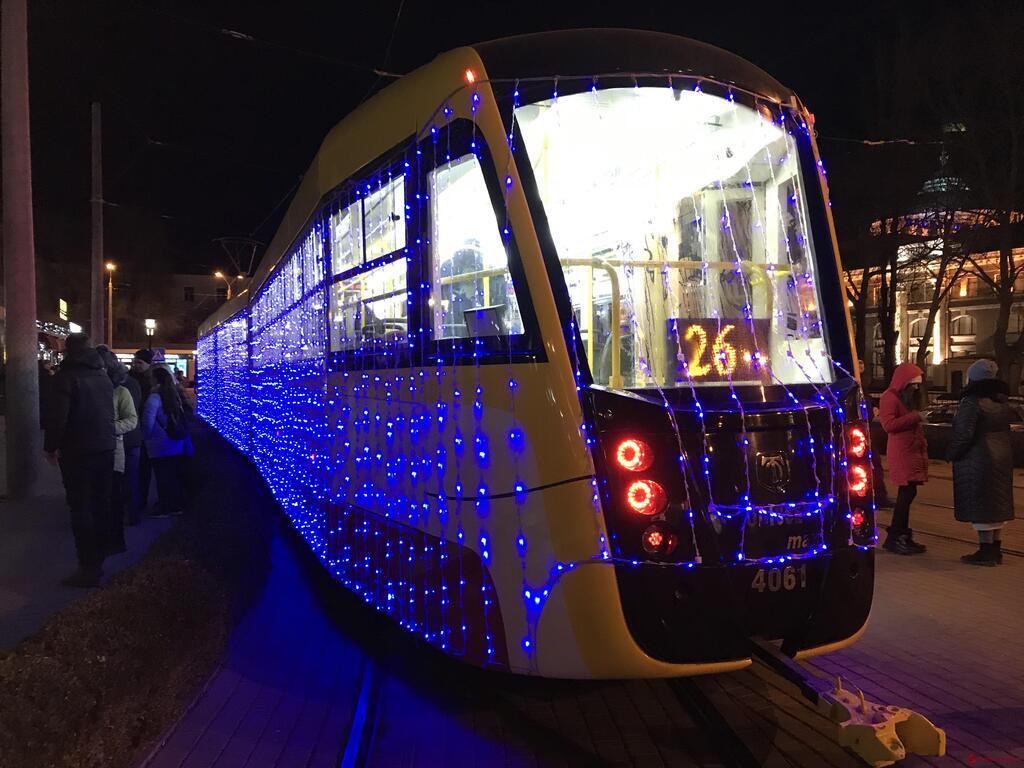 В Одессе устроили необычный парад на Рождество
