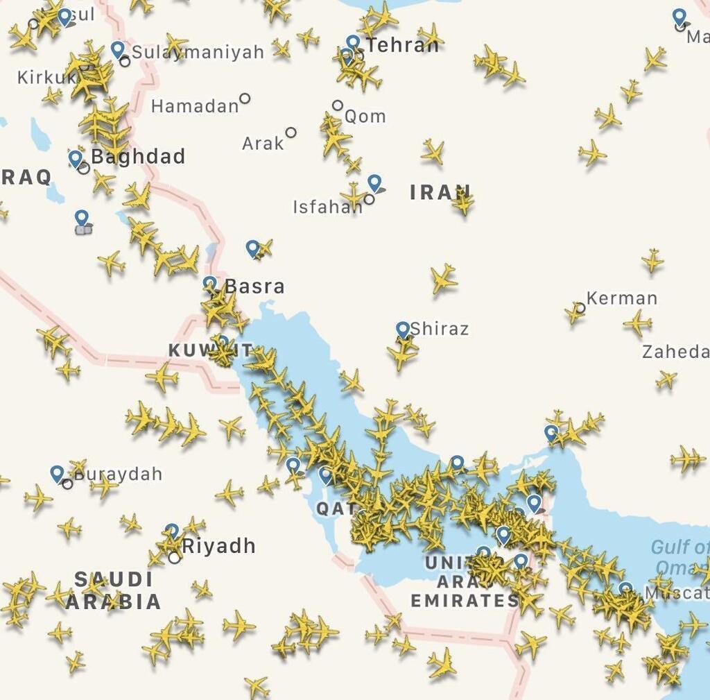 У регіоні здійснюють польоти сотні пасажирських лайнерів