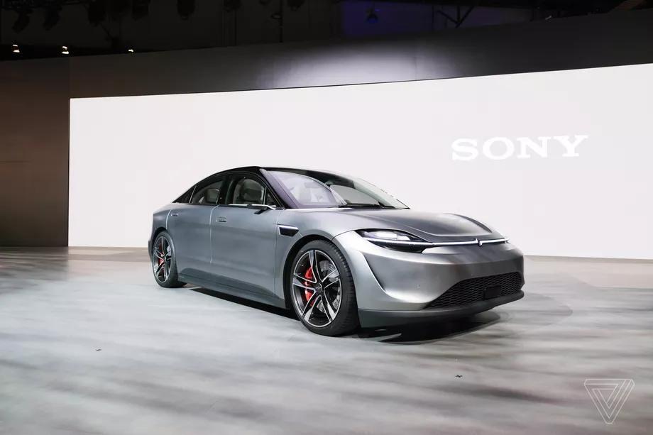 Електромобіль Sony Vision-S