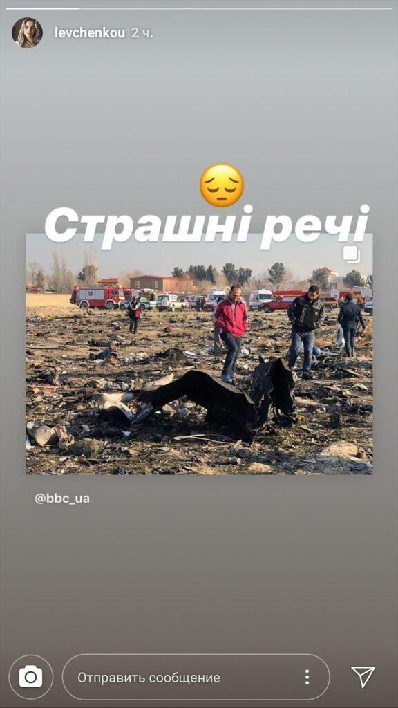 Звезды украинского спорта отреагировали на падение Boeing в Иране