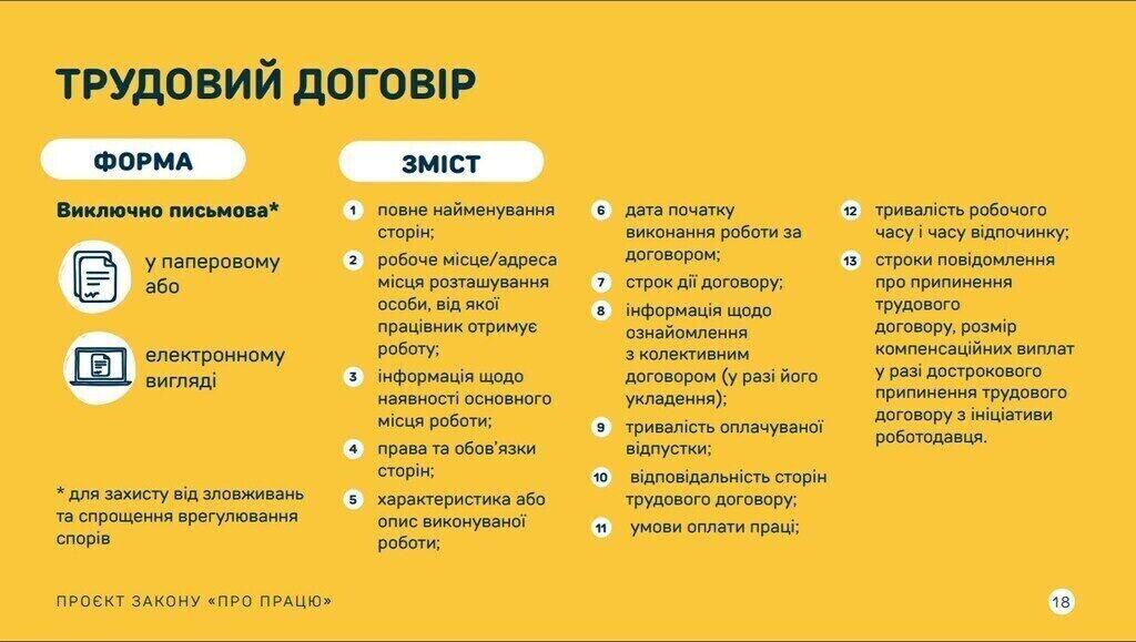 Презентация нового Трудового кодекса