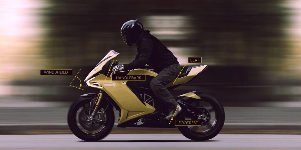 Електробайк Damon Motorcycles Hypersport