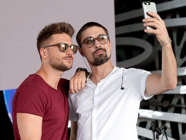 Сергей Лазарев и Дима Билан
