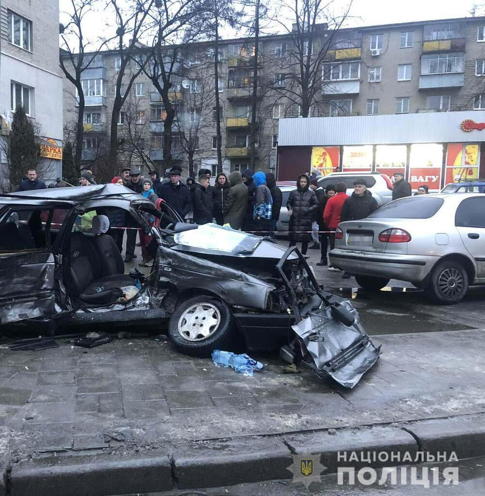 Смертельное ДТП во Львове