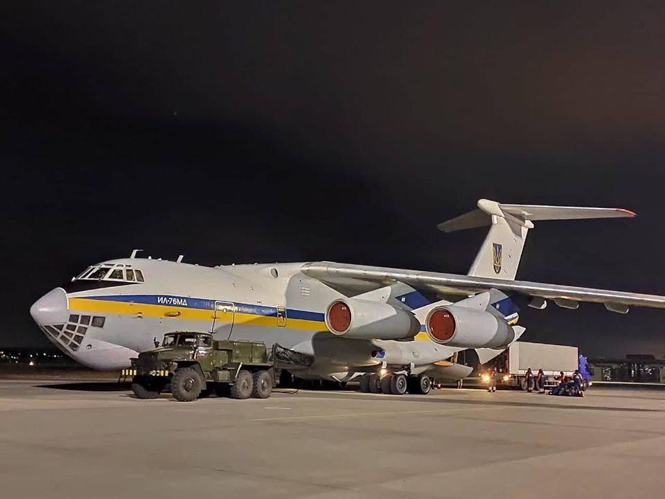 Украинский самолет отправился в Иран