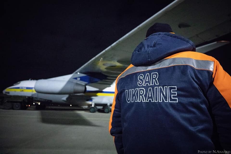 Літак із рятувальниками сів у Ірані