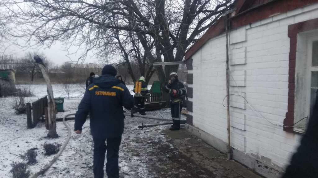 Под Днепром во время пожара в частном доме погиб мужчина