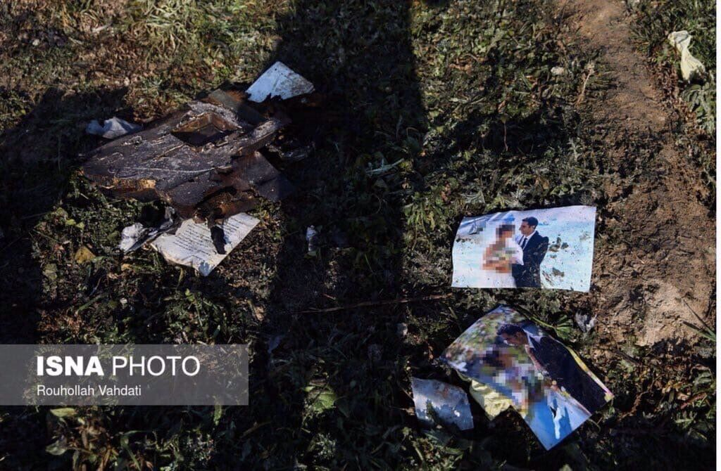 Иранцы опубликовали фото вещей погибших пассажиров самолета МАУ