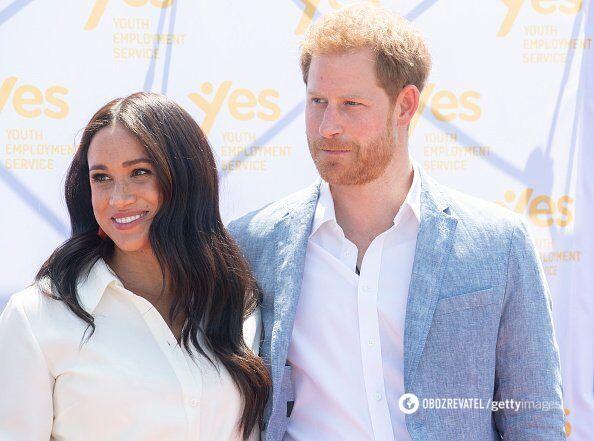 Меган Маркл и принц Гарри уходят из королевской семьи