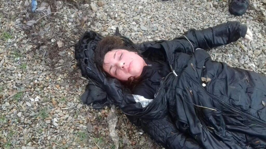 Полиция просит помочь опознать девушку