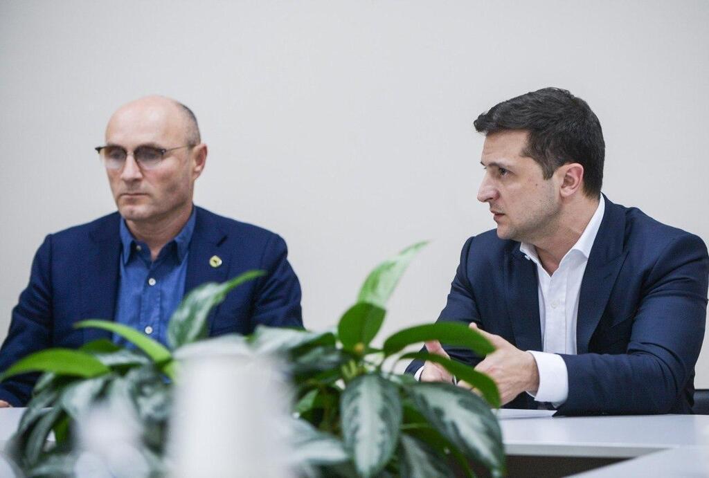 Зеленский встретился с родственниками погибших украинцев