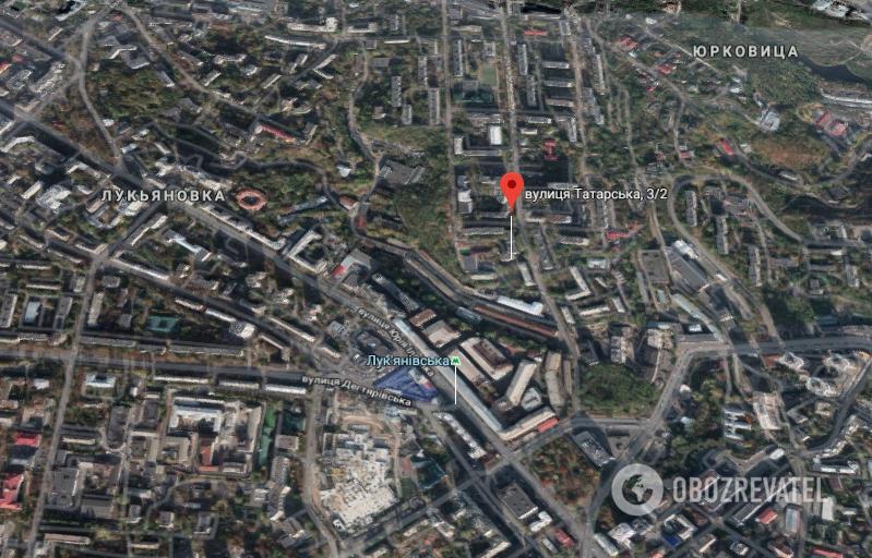 Трагедия произошла на улице Татарской в Киеве