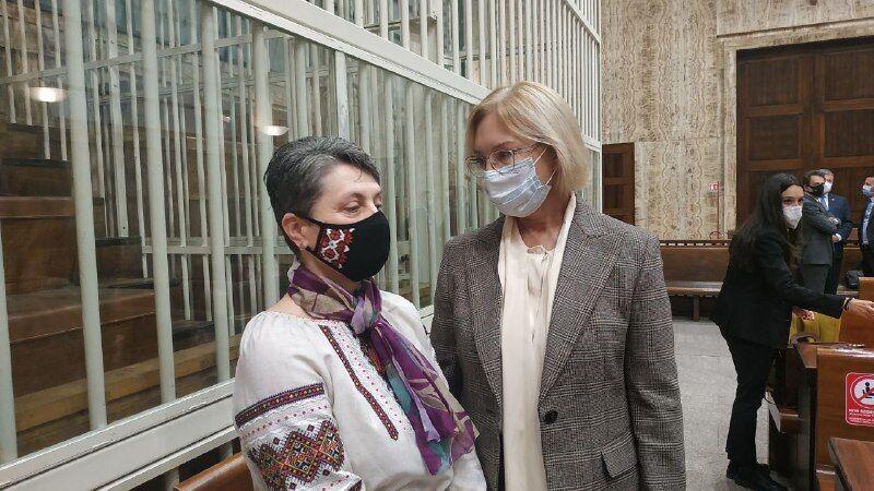 Мама Маркива и Людмила Денисова