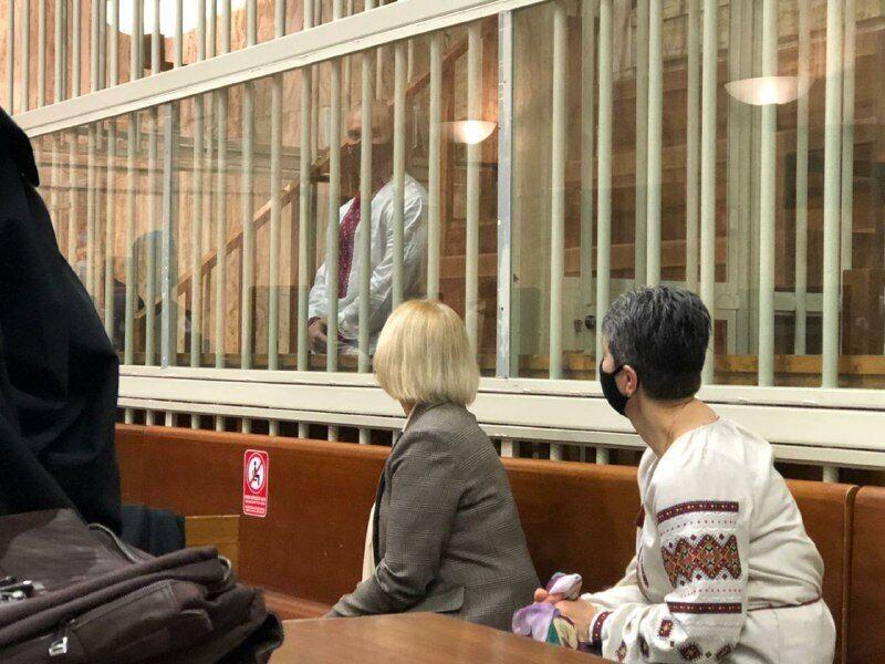 Виталий Маркив на суде