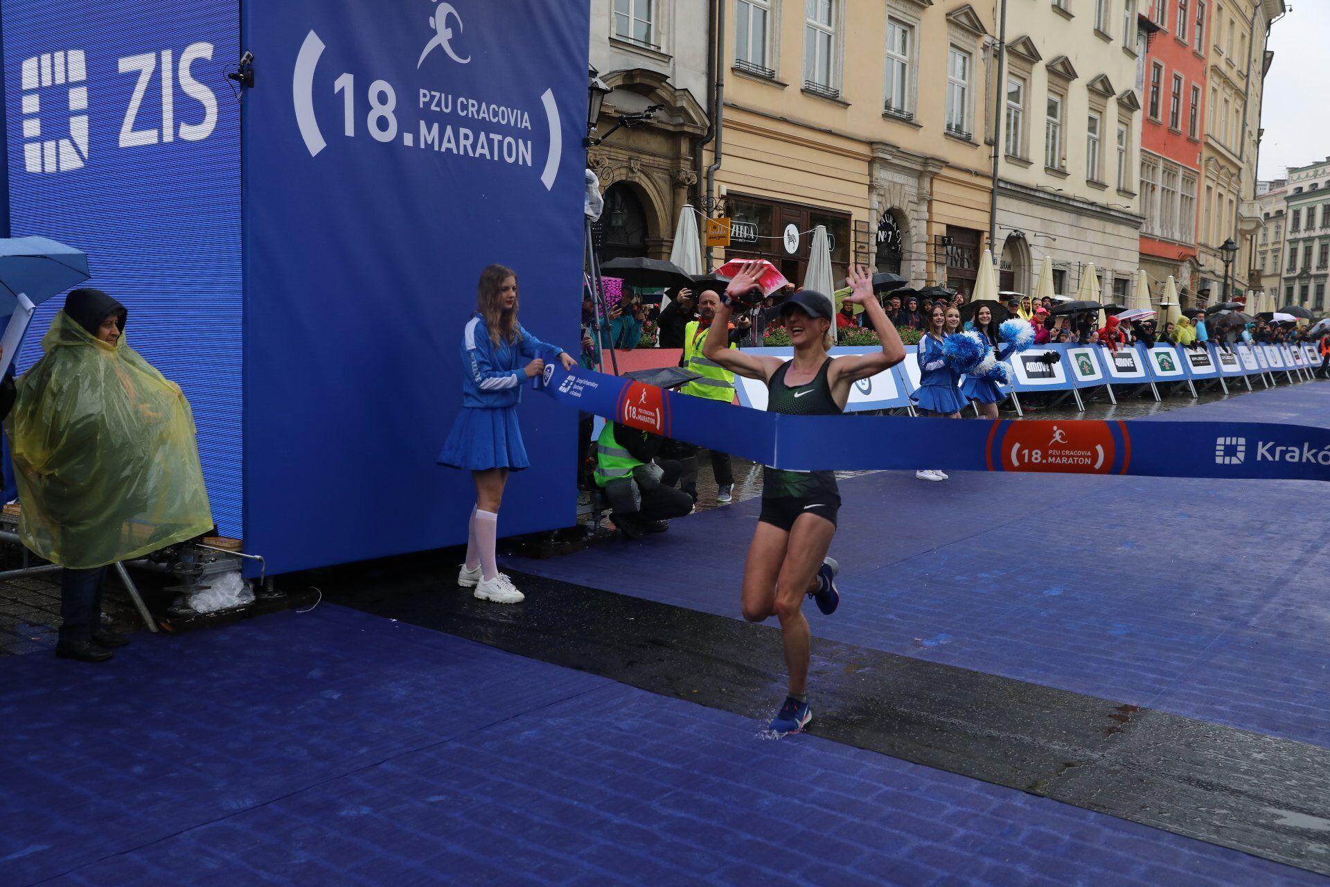 Українка Вікторія Хапіліна з рекордом виграла марафон в Болгарії