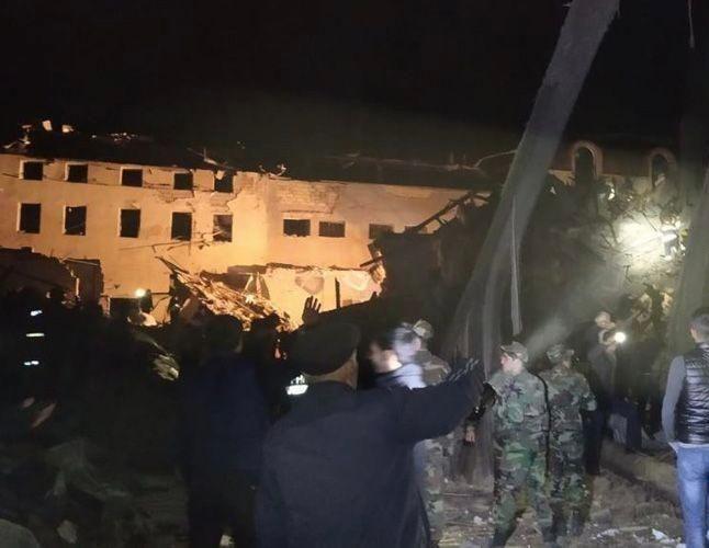 Смертельний обстріл міста на кордоні з Нагірним Карабахом – фото