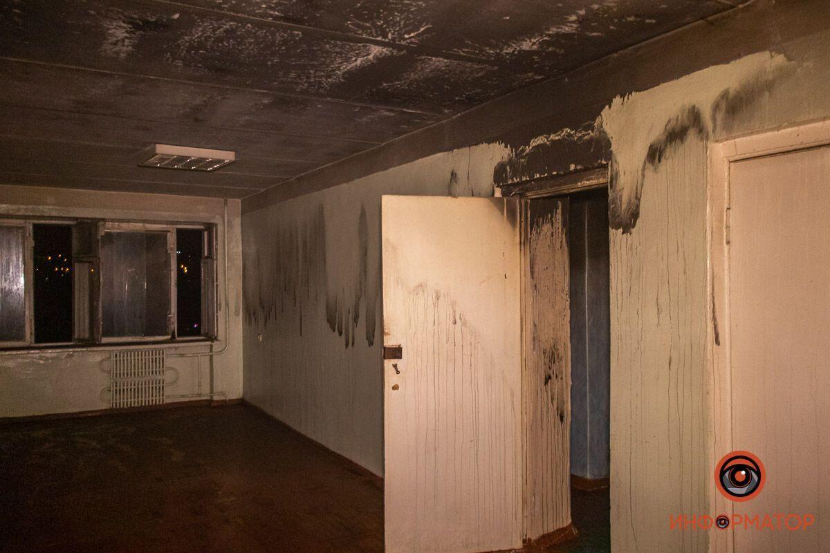 Площадь возгорания составила 30 м. кв.