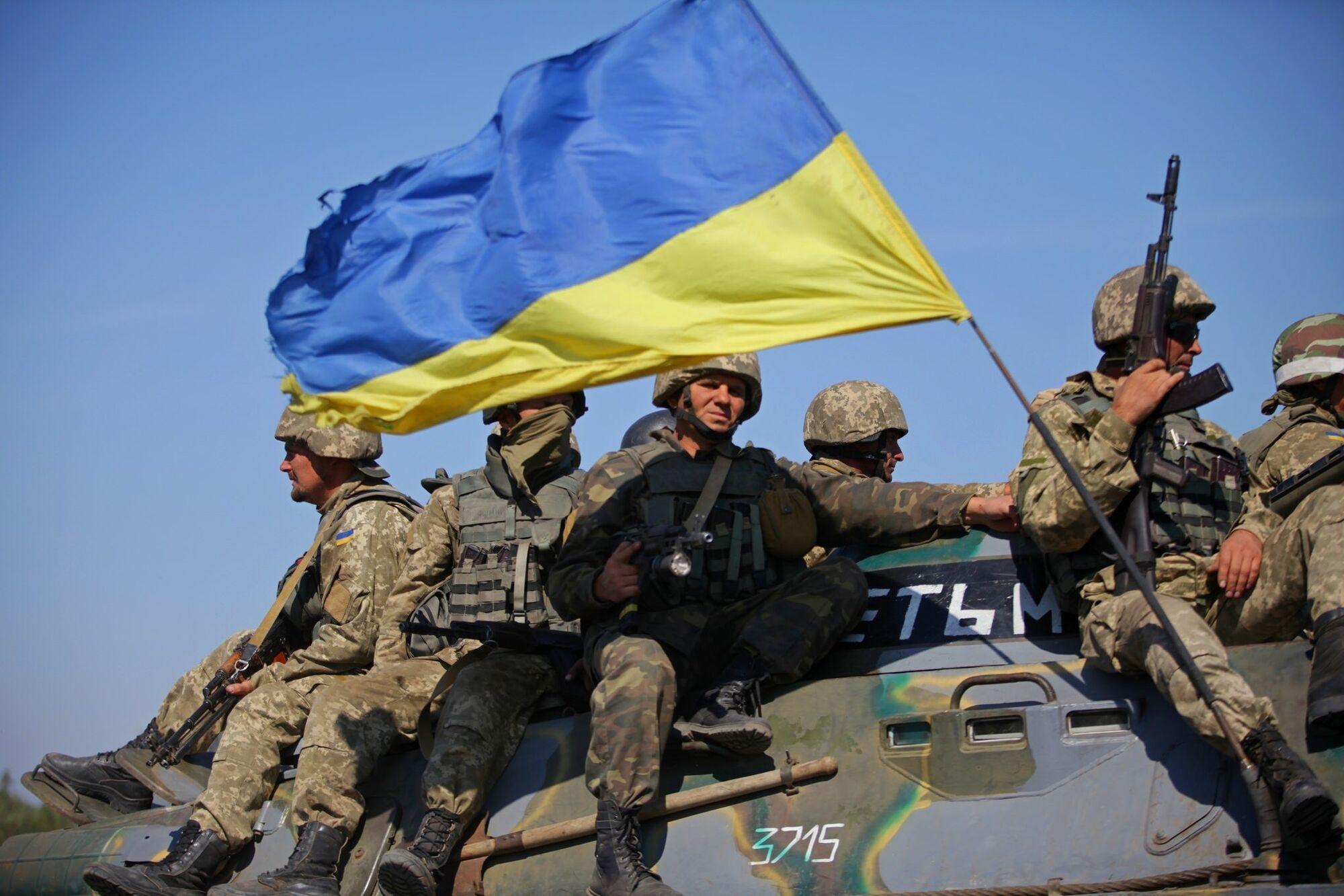 День защитника Украины был основан 14 октября 2014 указом президента Петра Порошенко