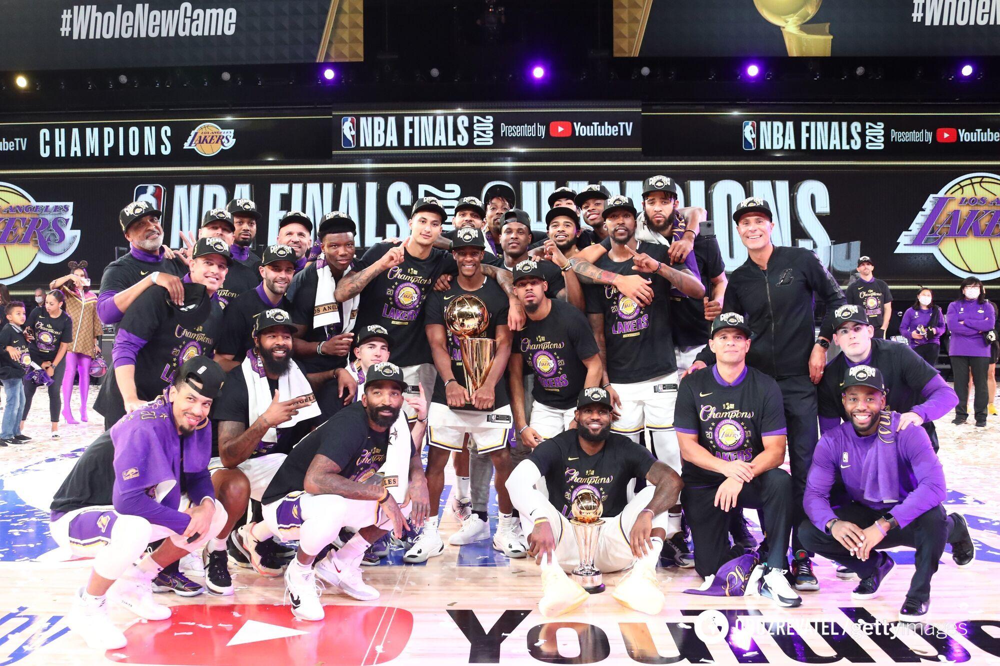 """""""Лейкерс"""" стали чемпионами НБА 2019/20"""