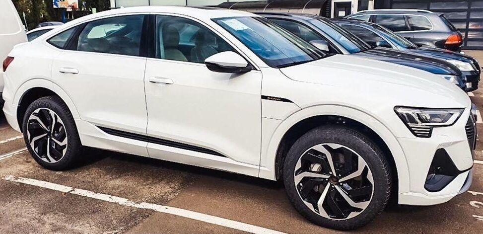Первый электрокар Audi e-tron Sportback в Украине.