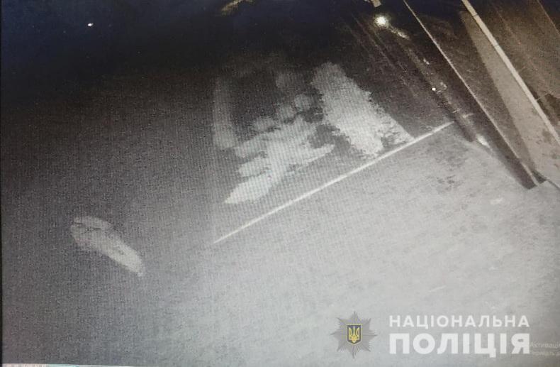Скриншот з камери спостереження