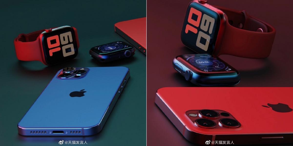 Предположительный вид iPhone 12