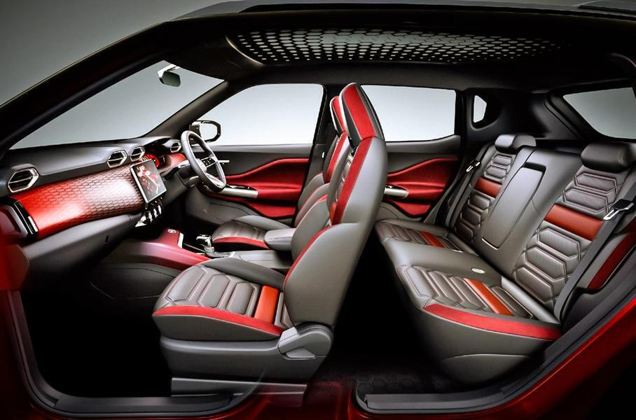 Серийный Nissan Magnite - интерьер.