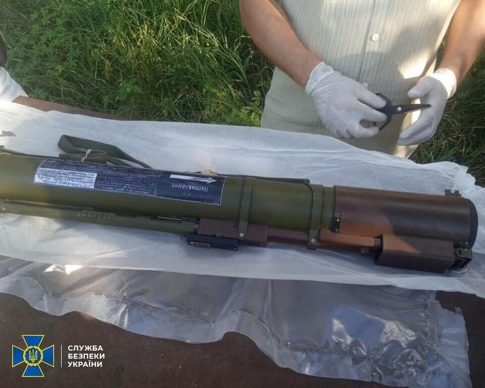 Оружие, которое продавали бандиты