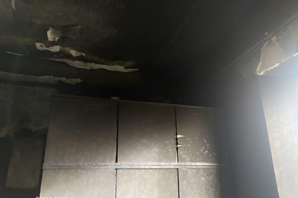 В результате пожара погиб 83-летний мужчина.