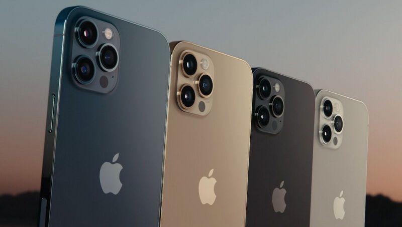 Новые цвета iPhone12
