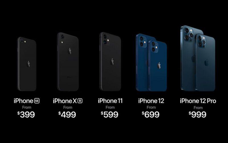 Цены на iPhone 12
