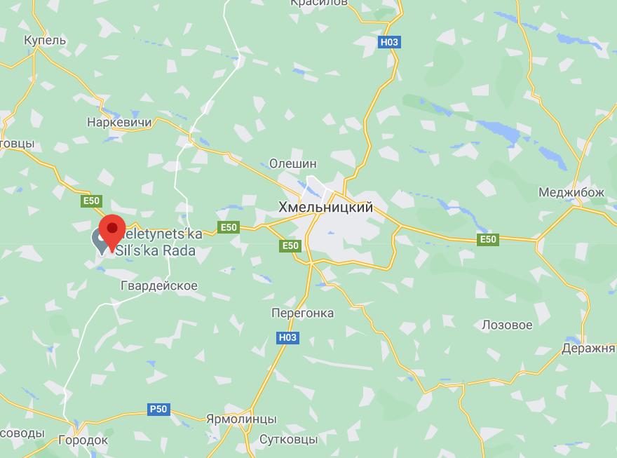 Гелетенцы возле Хмельницкого