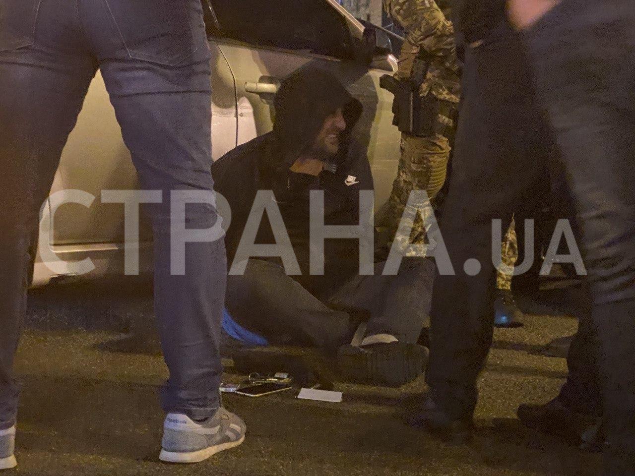 У Києві пройшло гучне затримання.