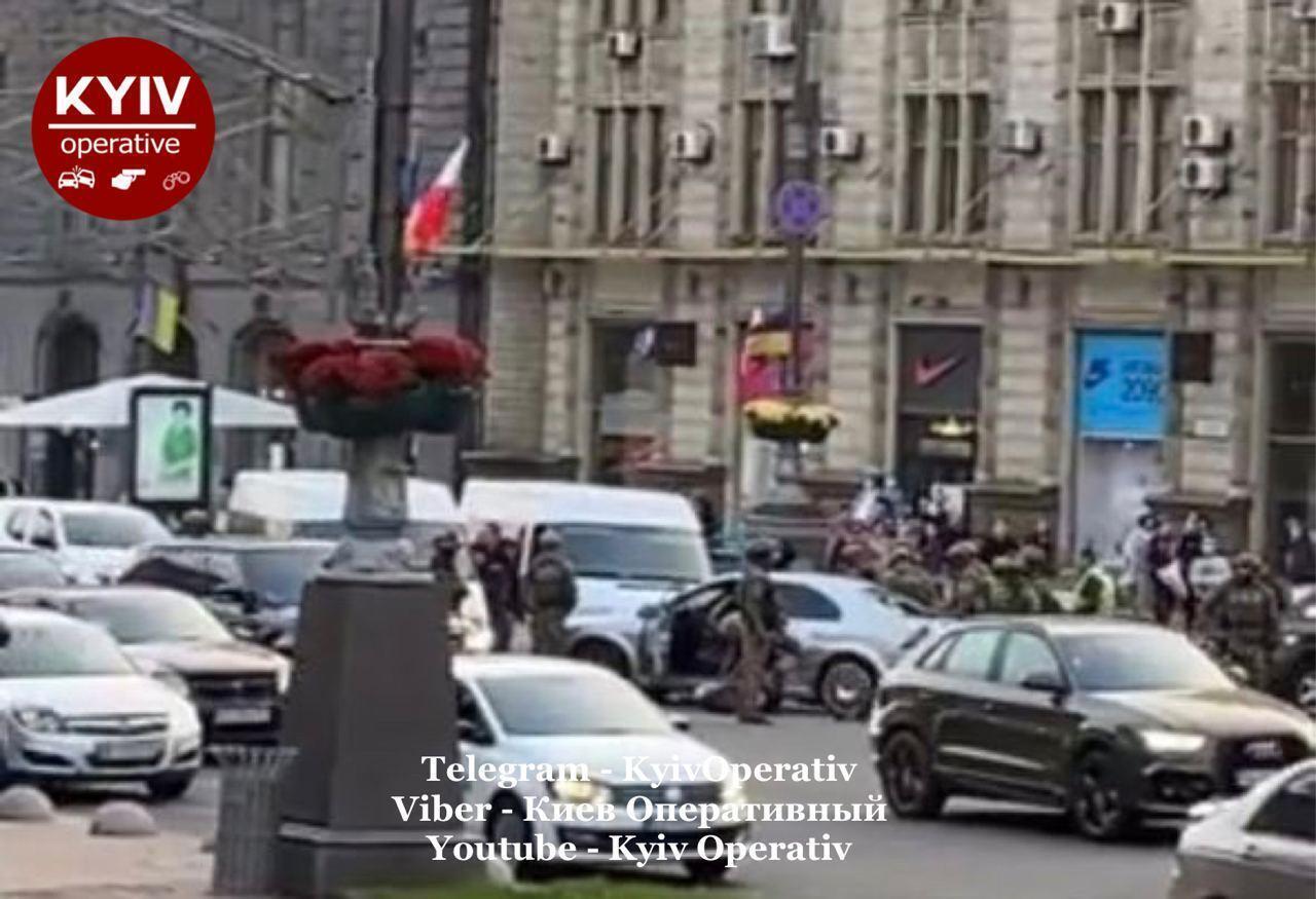 КОРД у центрі Києва.