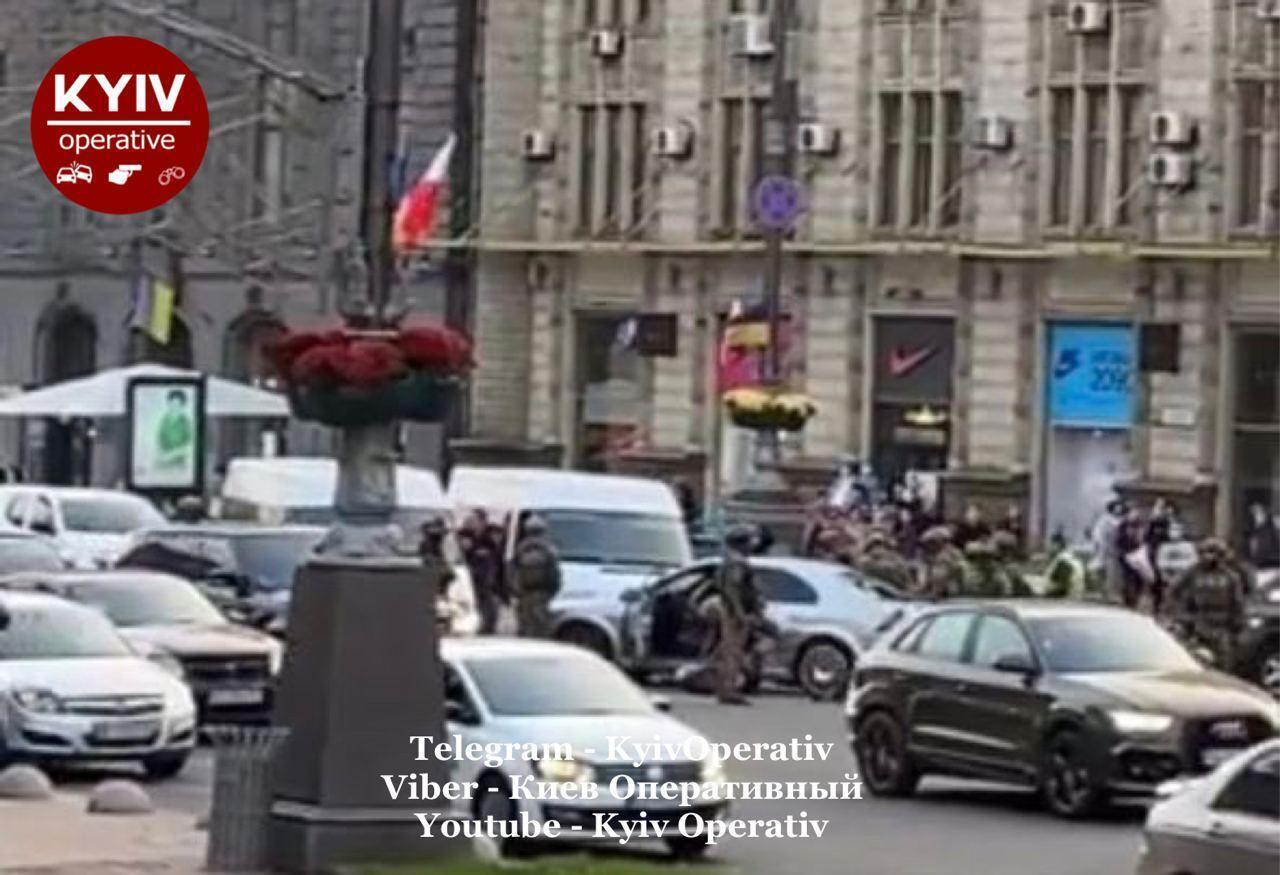 КОРД в центре Киева.