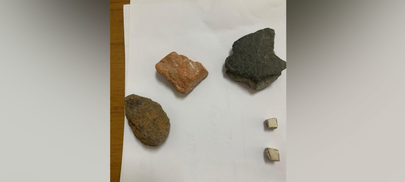 Артефакты, которые Николь привезла из Помпеи