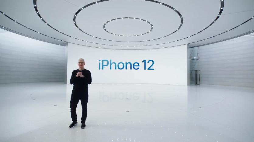 Тим Кук представил iPhone 12