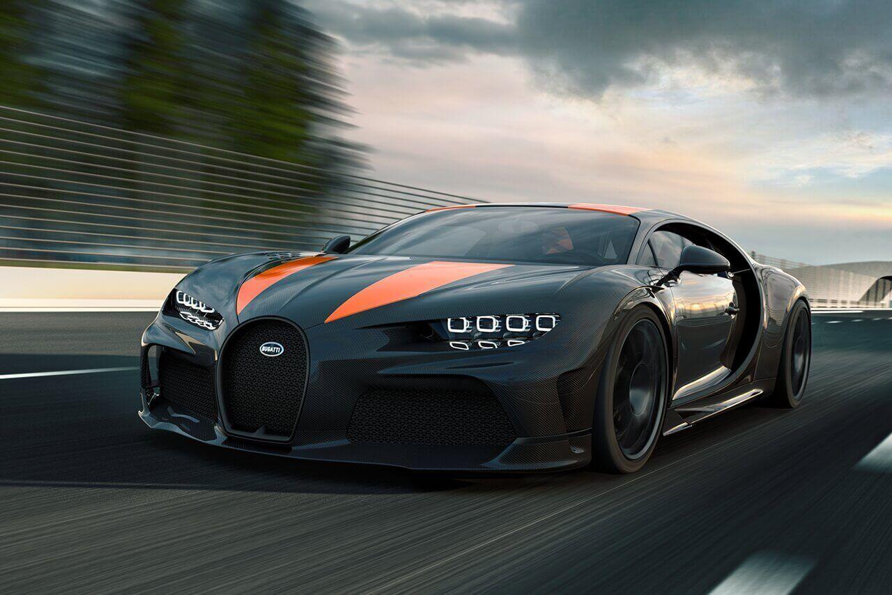 Bugatti Chiron Super Sport 300+ является абсолютным рекордсменом скорости в мире