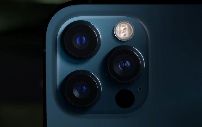 Камера iPhone 12 Pro