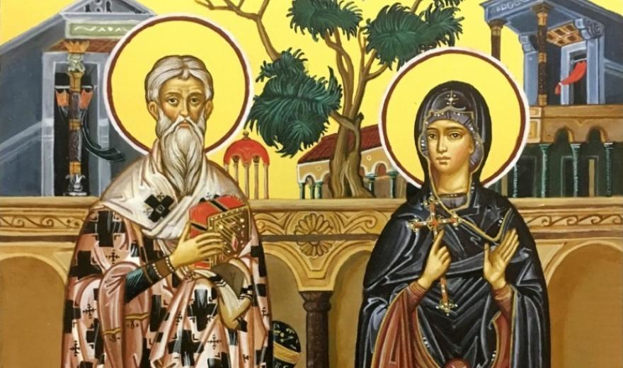 Святые Киприан и Иустина