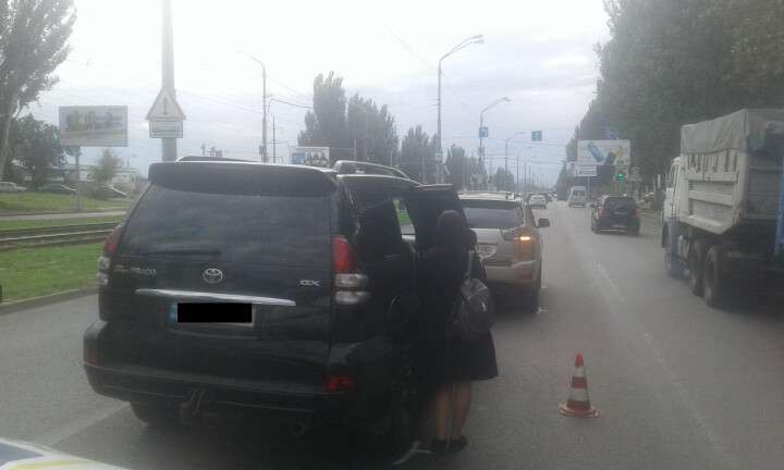 ДТП на Донецком шоссе.