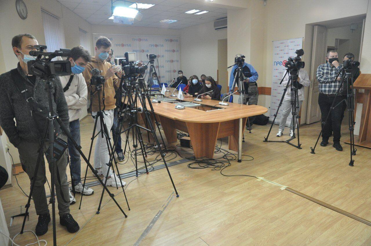 """Пресс-конференция """"Украина и Львов накануне местных выборов"""""""