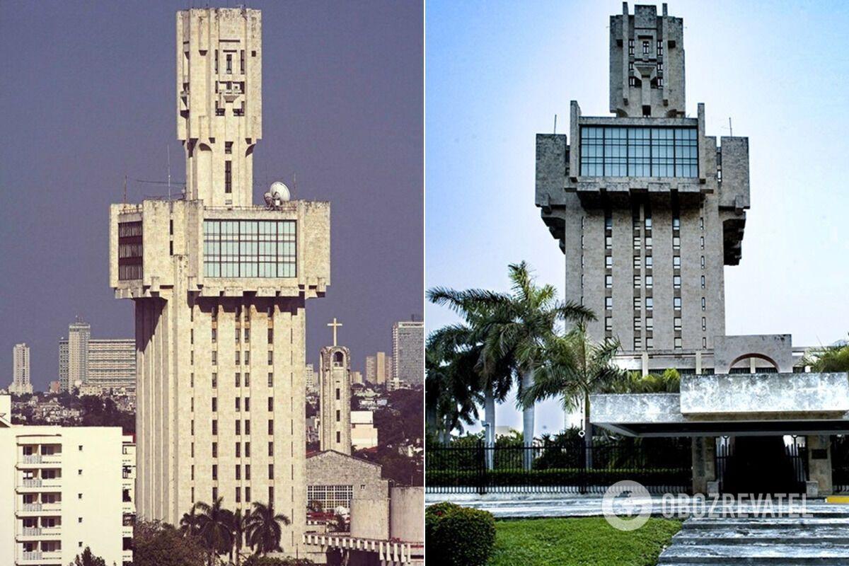 Посольство СССР на Кубе, Гавана, 1985 год