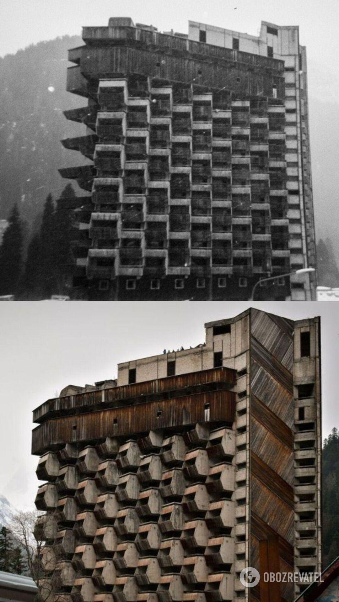 "Недостроенная гостиница ""Аманауз"" (РФ), 1980-е годы"