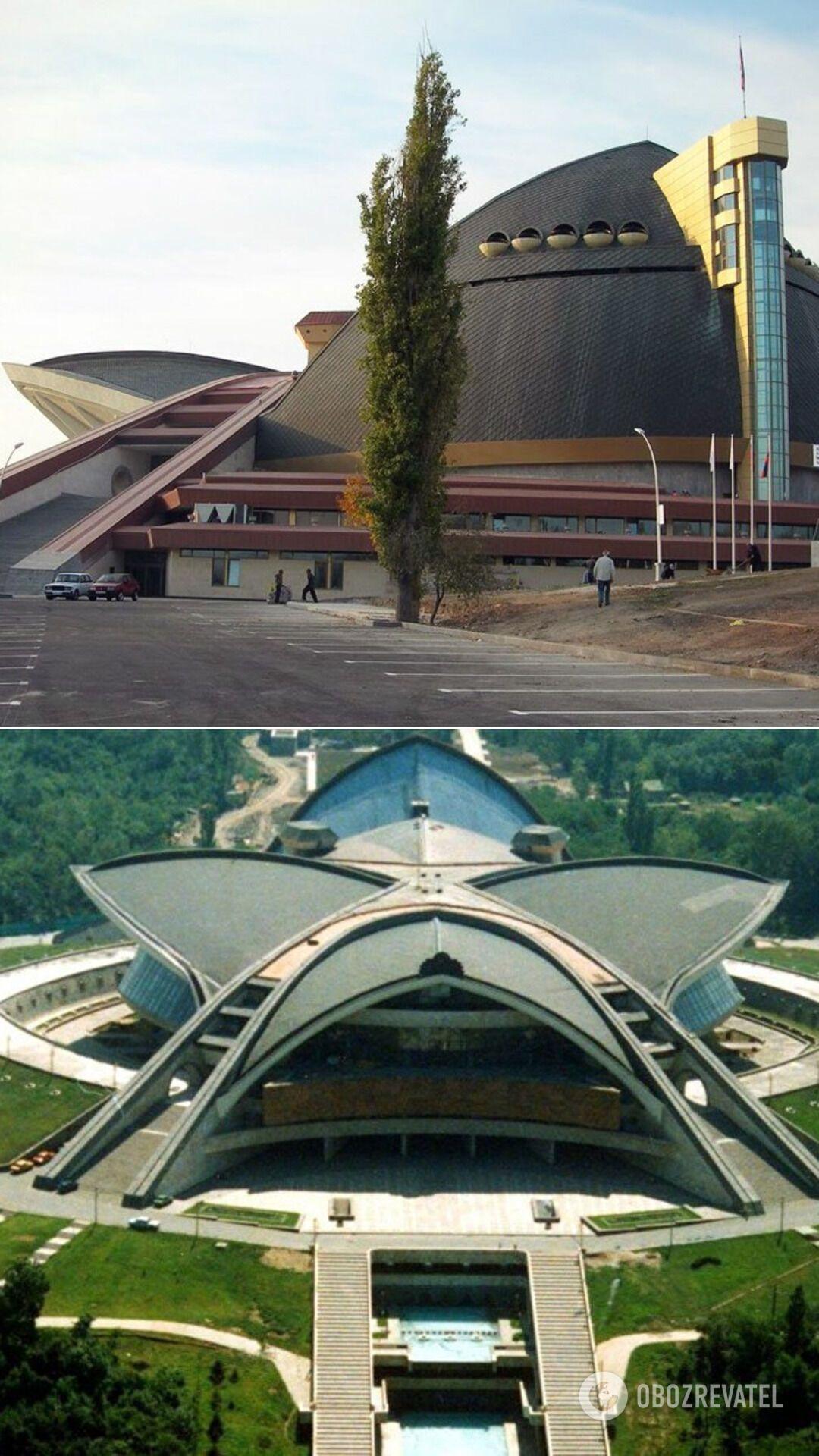 """Спортивно-концертный комплекс """"Амалир"""", Ереван (Армения), 1983 год"""