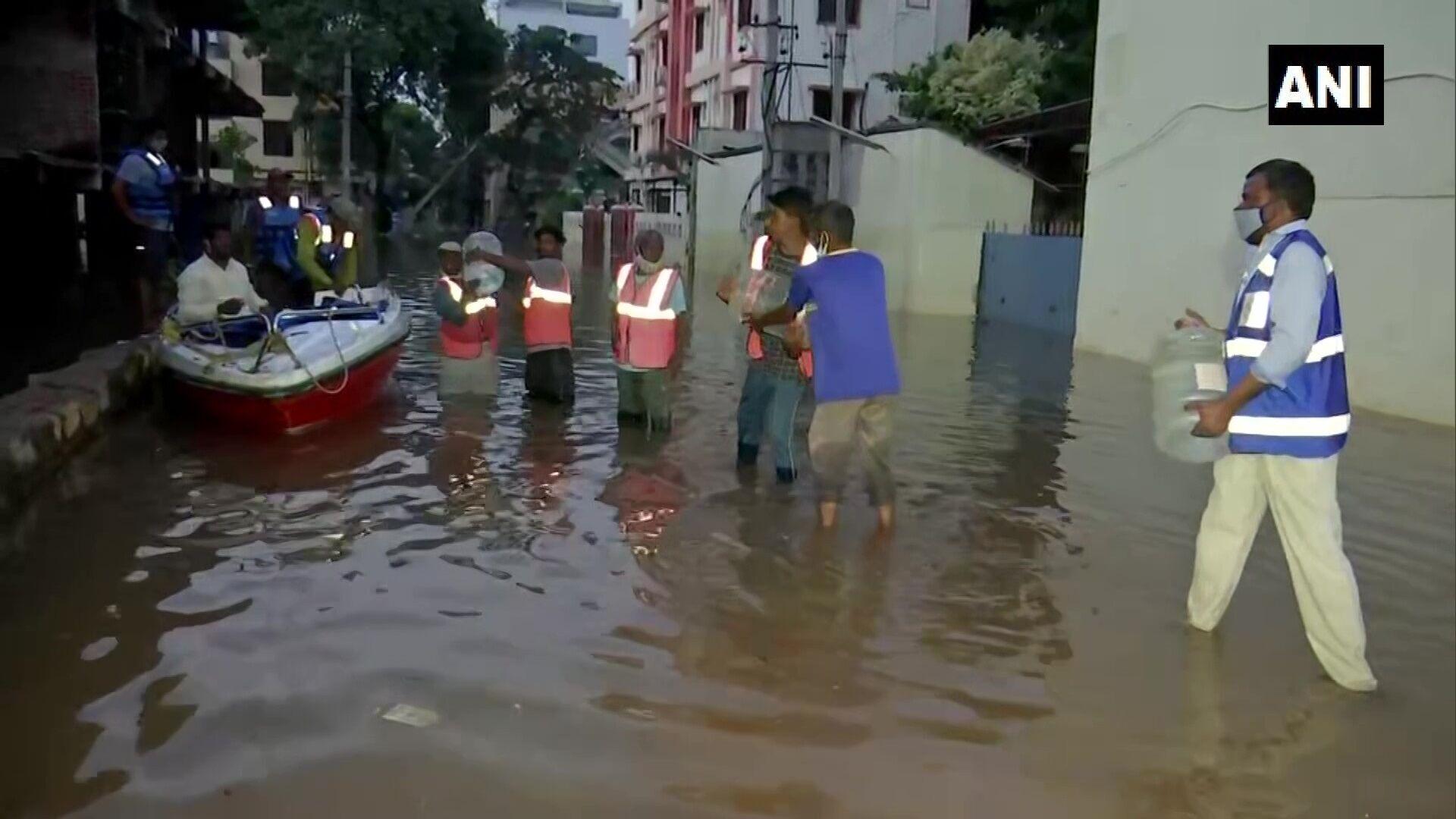 У постраждалих штатах випало на 143% більше опадів, ніж зазвичай