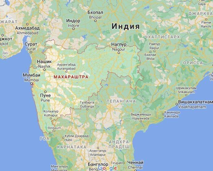 Також дісталося штату Махарашта