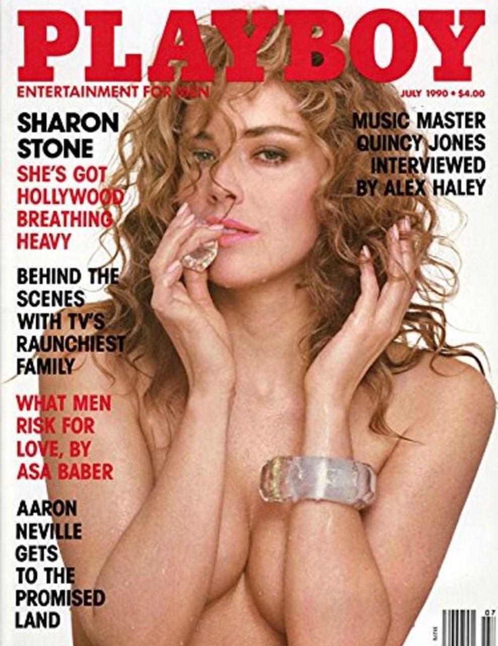 Шэрон Стоун в журнале Playboy.